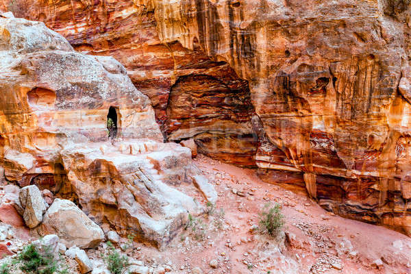 Petra Stock photo © alexeys