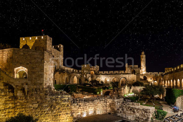 Night in the Old City Stock photo © alexeys