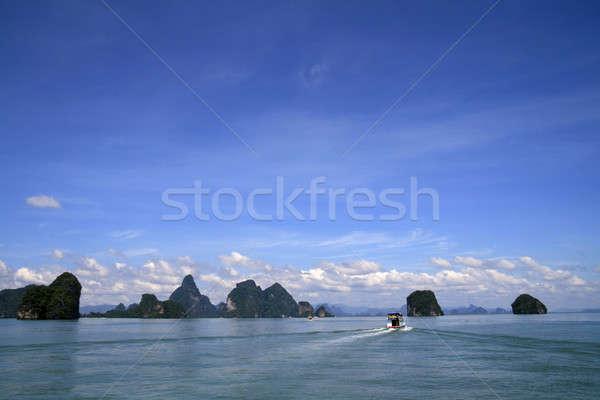 ストックフォト: 海 · 島々 · タイ · 水 · 雲