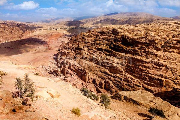 Petra desert Stock photo © alexeys