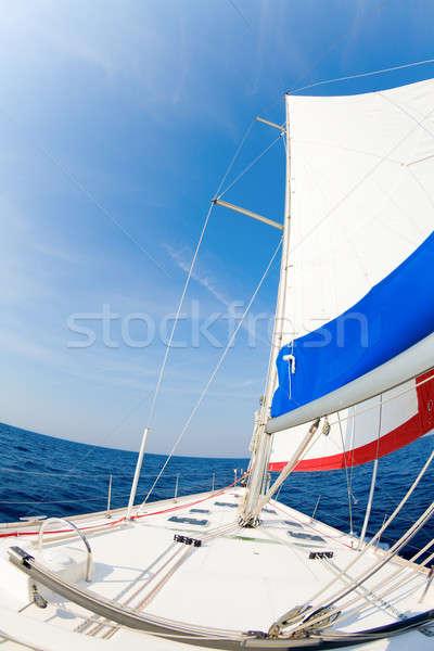 Sails up Stock photo © alexeys