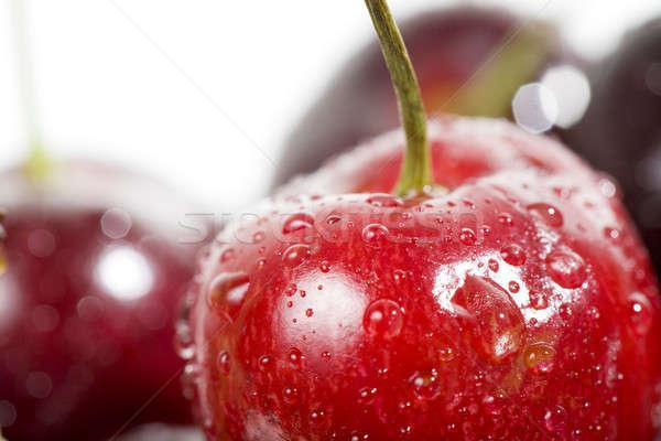 Anime érett édes fehér sekély mélységélesség Stock fotó © alexeys