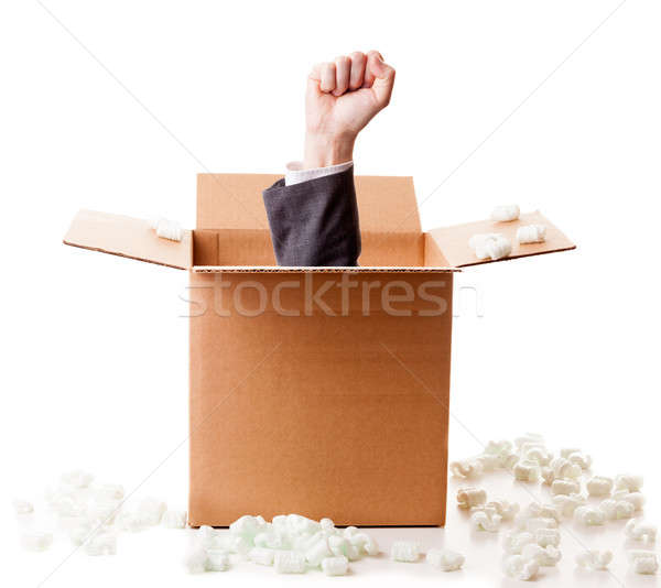 Power out of the box Stock photo © alexeys