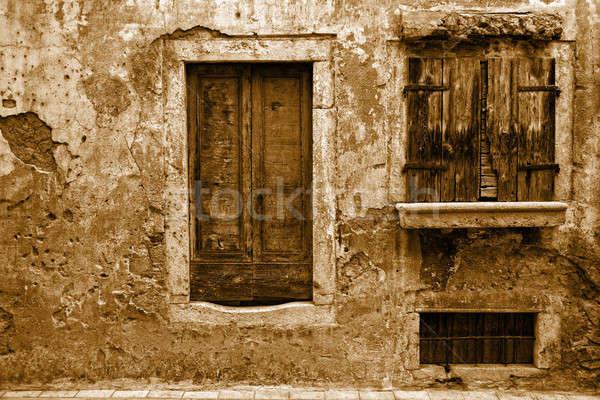 Neglected home Stock photo © alexeys