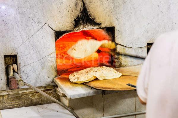 хлебобулочные старые Дубай традиционный арабский Сток-фото © alexeys