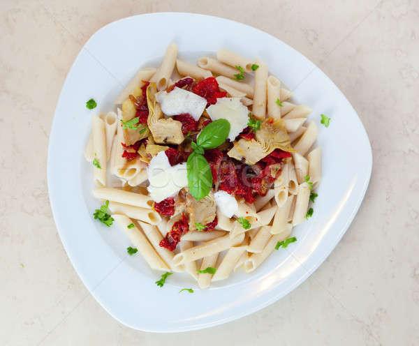 Pasta dish  Stock photo © alexeys