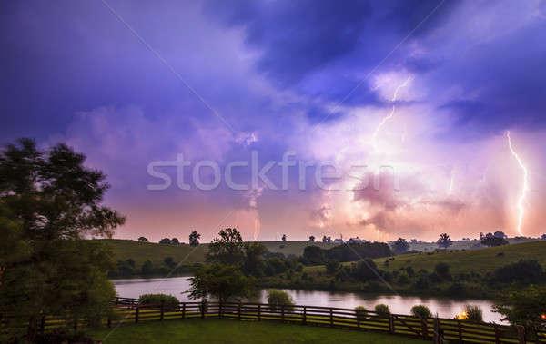 Thuderstorm Stock photo © alexeys