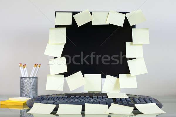 Memos Stock photo © alexeys