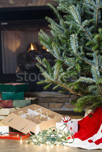 Christmas preparations Stock photo © alexeys