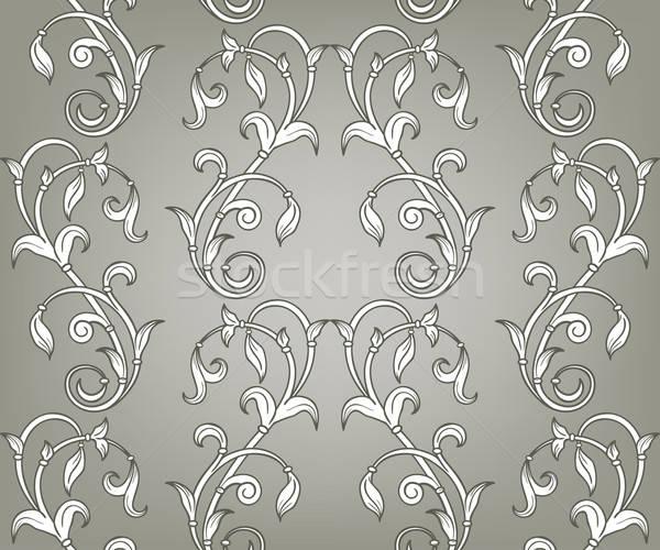 Vector naadloos patroon helling menu Stockfoto © alexmakarova