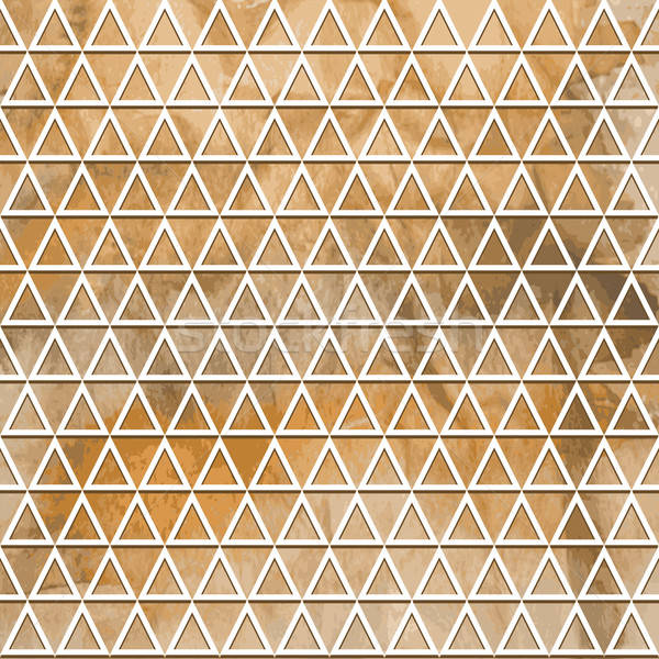 Vector naadloos geometrisch patroon aquarel winter textuur Stockfoto © alexmakarova