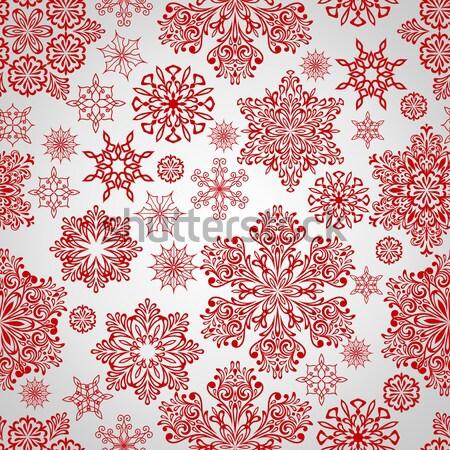 ベクトル 雪 詳しい ストックフォト © alexmakarova
