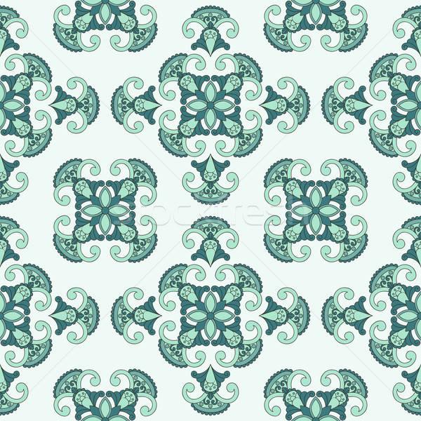 Vector seamless paisley pattern, Stock photo © alexmakarova