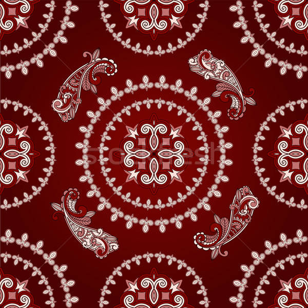 vector seamless paisley pattern Stock photo © alexmakarova