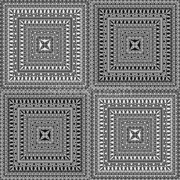 ストックフォト: ベクトル · シームレス · 広場 · 民族 · パターン