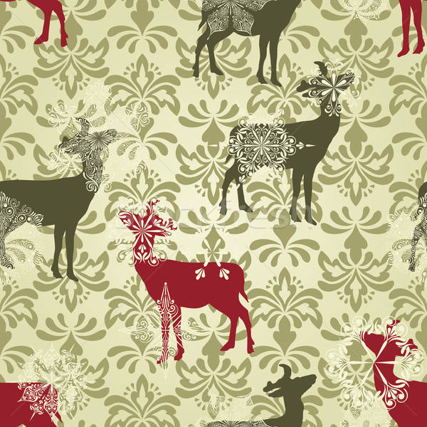 Vector Christmas  Wallpaper  Stock photo © alexmakarova