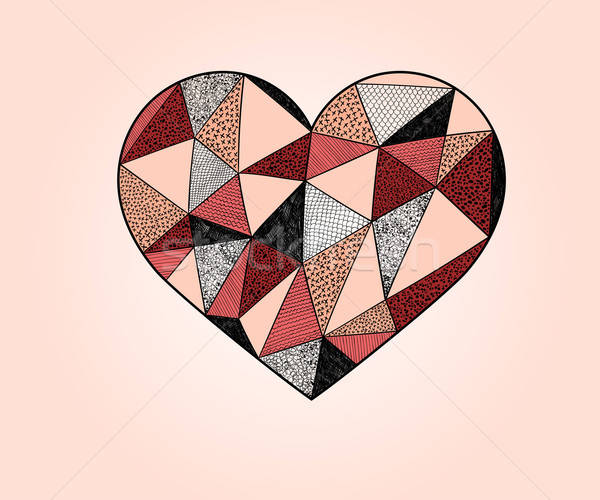 Vector Valentine's day Design Elements Stock photo © alexmakarova