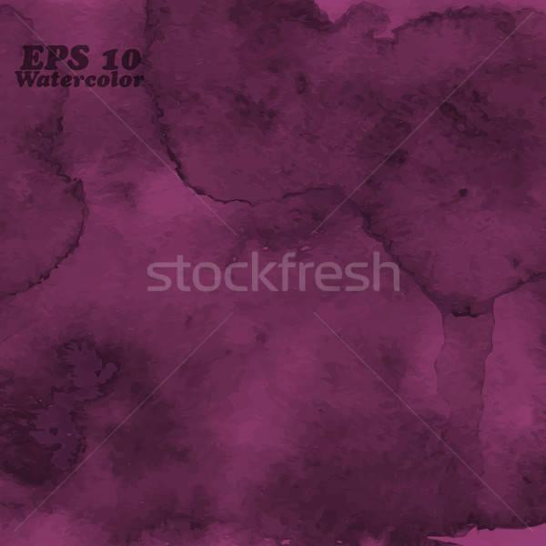 Vettore acquerello trasparenza effetti abstract Foto d'archivio © alexmakarova