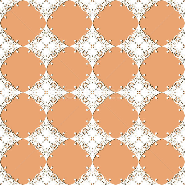 vector seamless vintage lacy  pattern Stock photo © alexmakarova