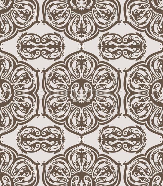 Vector naadloos vintage patroon Stockfoto © alexmakarova