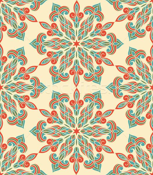 Vector Seamless Floral Pattern Stock photo © alexmakarova