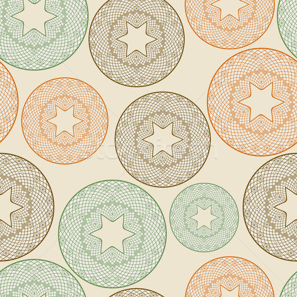 vector seamless pattern with lacy balls  Stock photo © alexmakarova