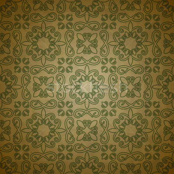 vector seamless pattern on grungy background with crumpled paper Stock photo © alexmakarova