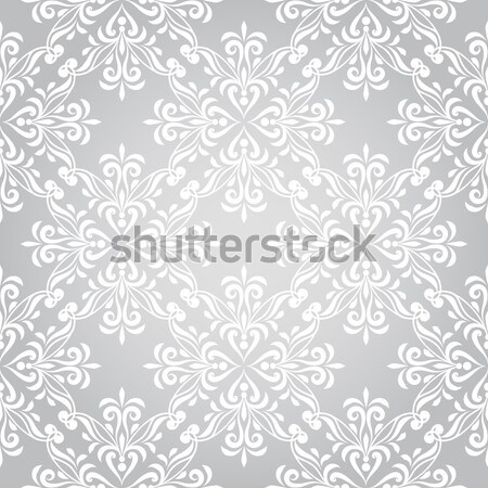 Stock photo: Vector Seamless Winter Pattern with Snowflakes