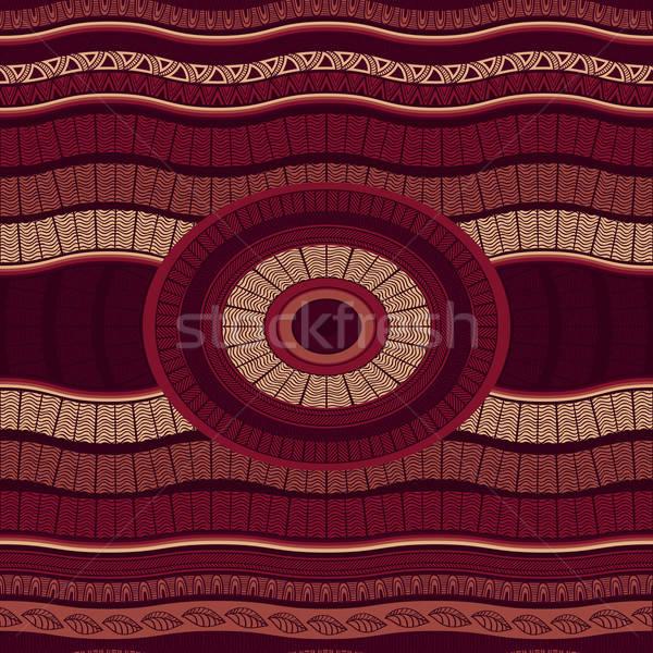Vector Seamless Marsala Pattern Stock photo © alexmakarova