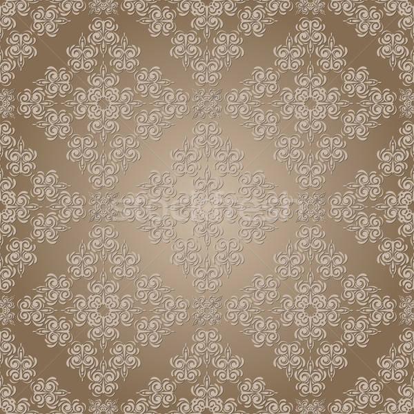 vector seamless lacy pattern Stock photo © alexmakarova