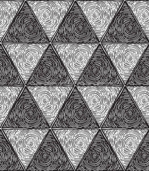 Vector Abstract Seamless Pattern Stock photo © alexmakarova