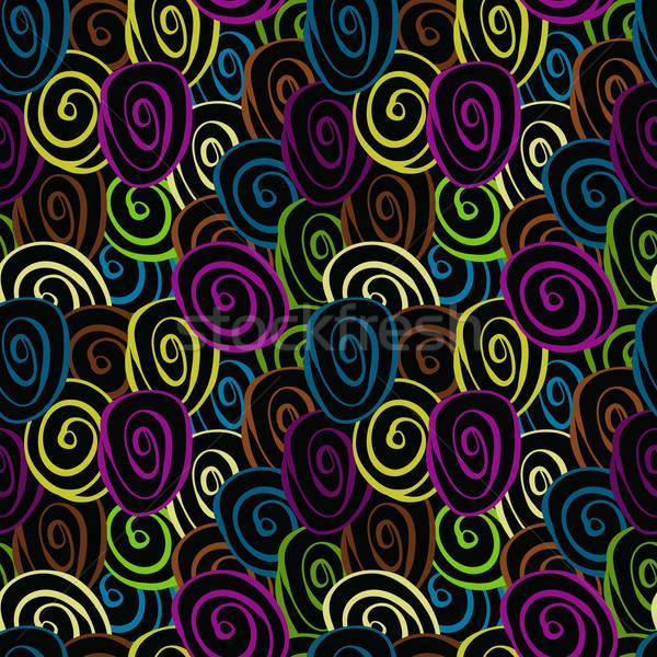 Stok fotoğraf: Vektör · korkak · circles · gibi