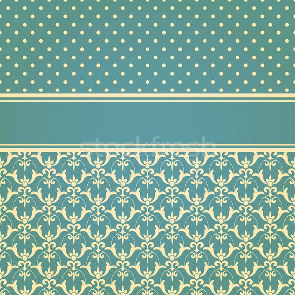 Vettore senza soluzione di continuità floreale wallpaper pattern Foto d'archivio © alexmakarova