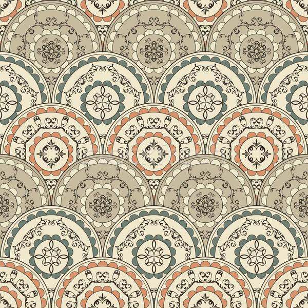 ベクトル シームレス ヴィンテージ オリエンタル パターン 壁紙 ストックフォト © alexmakarova