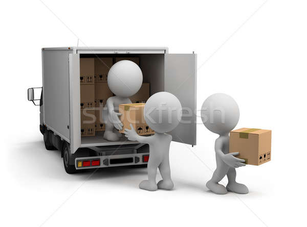 Delivery of cargo Stock photo © AlexMas