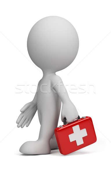 3d person - doctor Stock photo © AlexMas