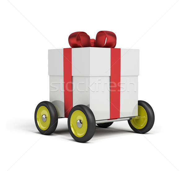 Gift delivery Stock photo © AlexMas