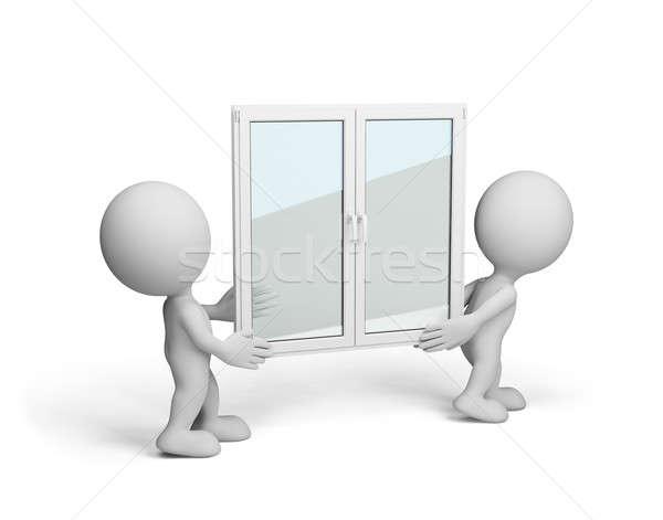 New window Stock photo © AlexMas