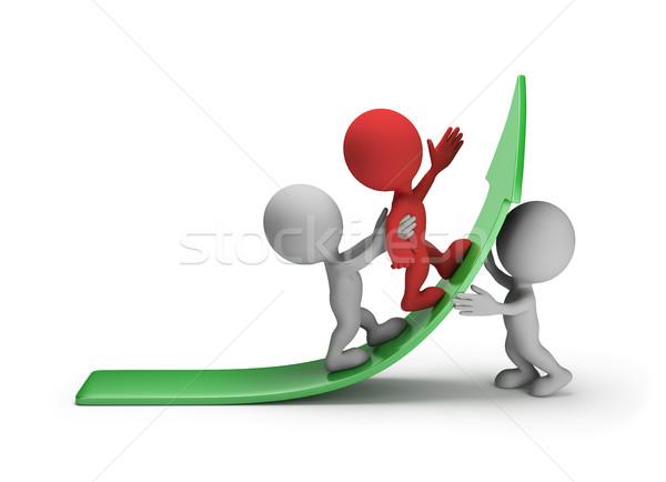 Stock photo: Forward to success