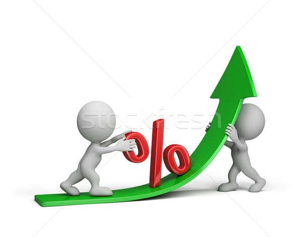 Earnings growth Stock photo © AlexMas