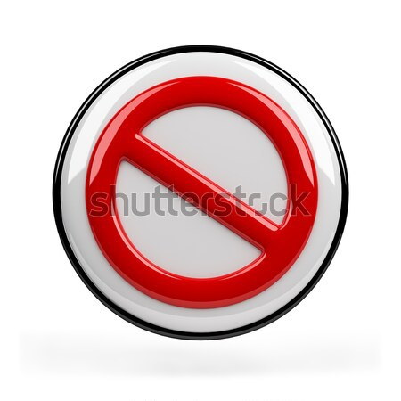 Interdiction sign  Stock photo © AlexMas