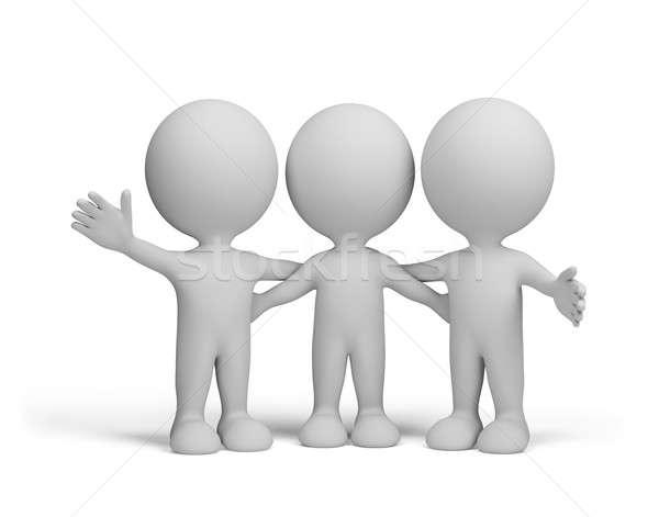 Three friends Stock photo © AlexMas
