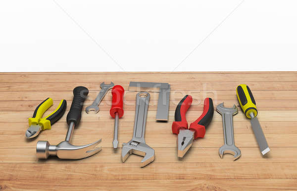 3d tool on the table Stock photo © AlexMas
