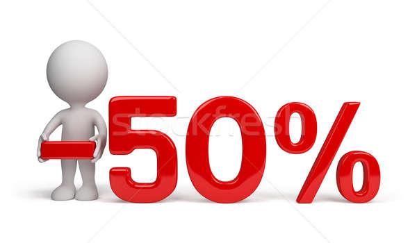 50 percent discount  Stock photo © AlexMas