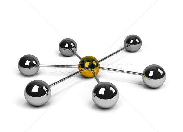 Partner network Stock photo © AlexMas