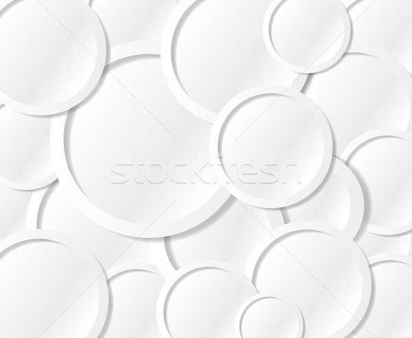 Iletişim metin circles kabarcıklar örnek dizayn Stok fotoğraf © alexmillos