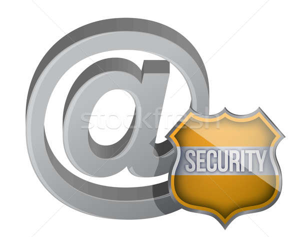 security shield internet graphic concept illustration design Stock photo © alexmillos