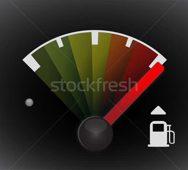 Full gas tank detail  Stock photo © alexmillos