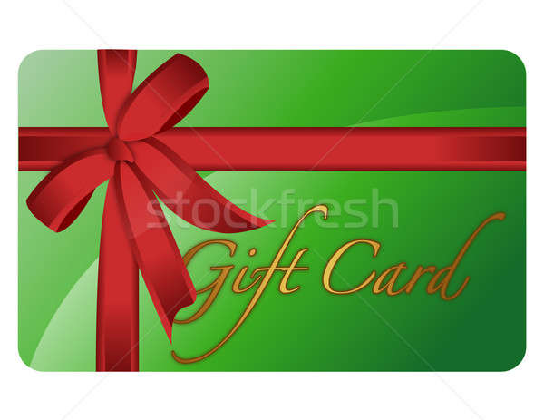 Gift card wektora pliku ceny złota Zdjęcia stock © alexmillos