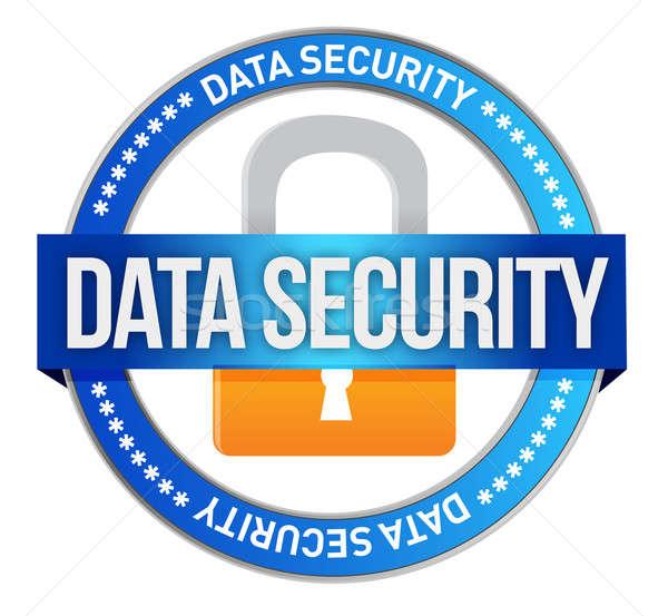 Segurança de dados negócio internet servidor teia chave Foto stock © alexmillos